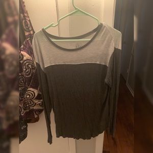 SOFT grey long sleeve top